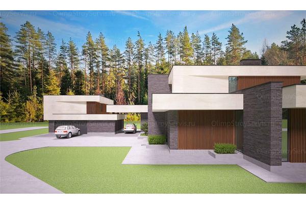 Современный двухэтажный дом с плоской крышей| Калифорния фото №9