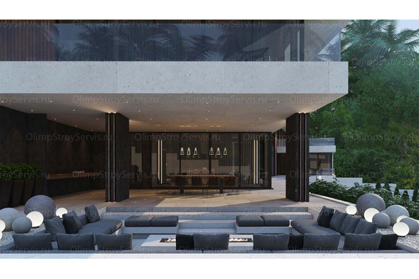 проект дома резиденция