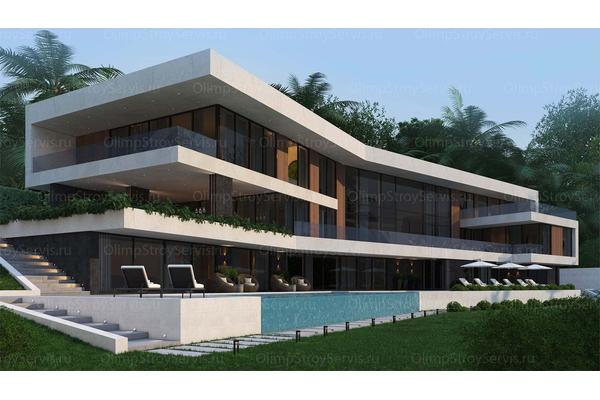 проекты загородных резиденций