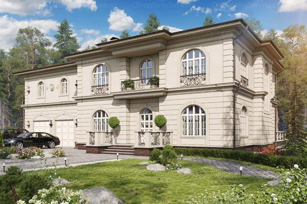Большой дом с бассейном Принстон