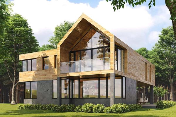Дом в стиле барнхаус «Арлон»