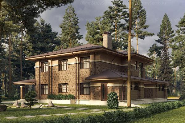 Стиль райт загородных домов