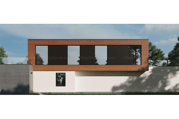 проекты домов и коттеджей в современном стиле