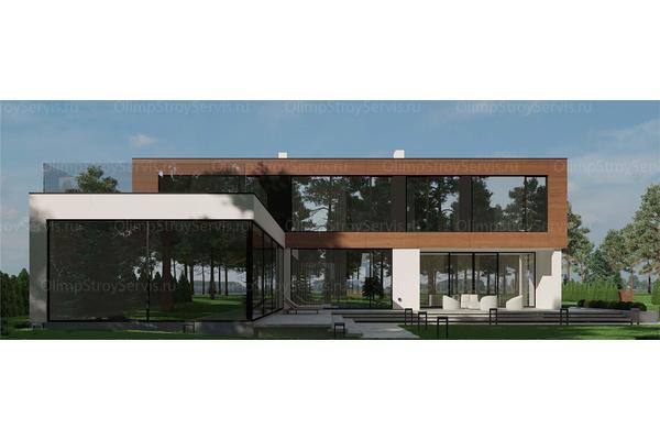 интерьеры домов и коттеджей в современном стиле