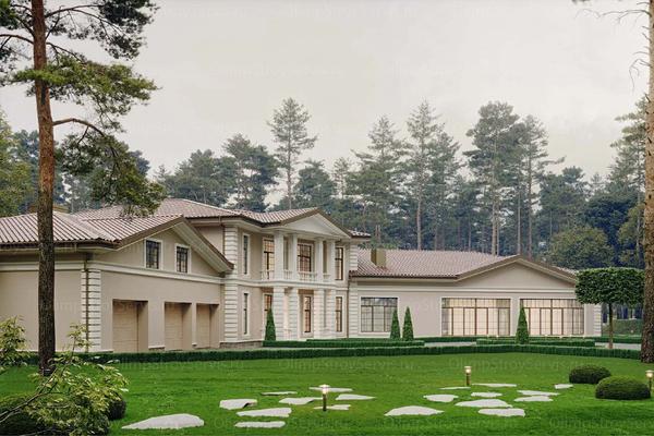 Дом в классическом стиле «Бельфор» фото №2