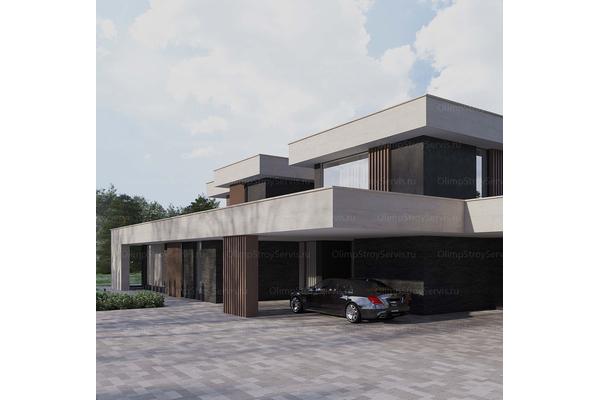 загородная резиденция проект
