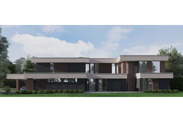 проект частной резиденции