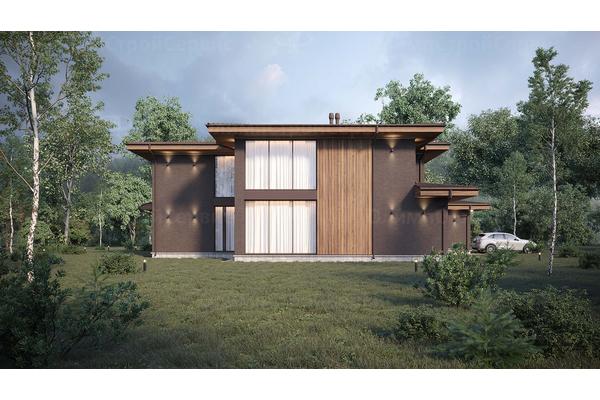 —проекты домов в стиле райта