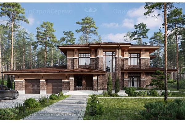 современные дома с террасой