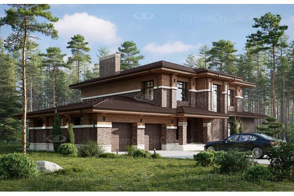 современные дома проекты с террасами