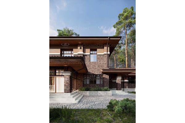 современные дома проекты с террасами двухэтажные